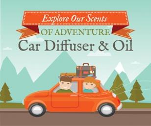 July Adlet Car Diffuser & Oil