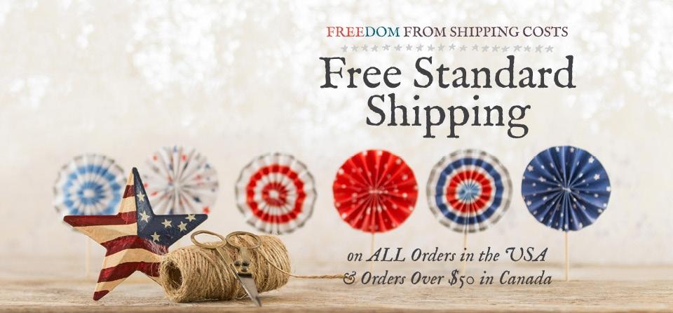 July Slider Shipping
