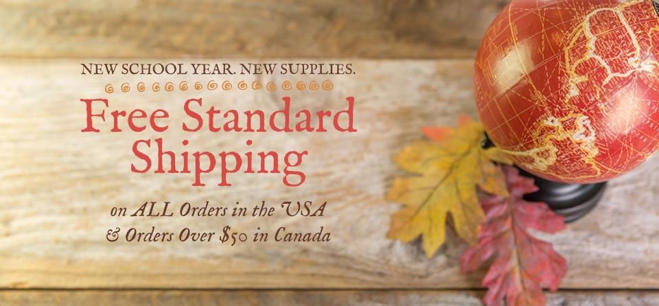 September Slider shipping