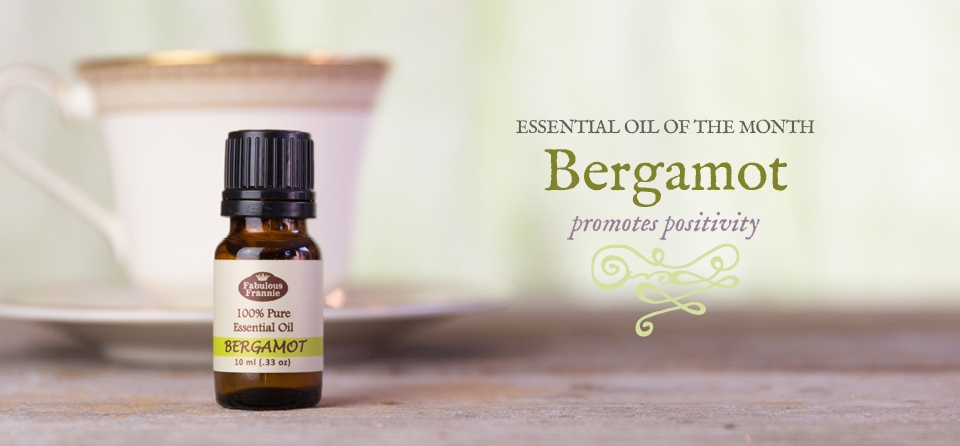 April Slider: EO of Month Bergamot
