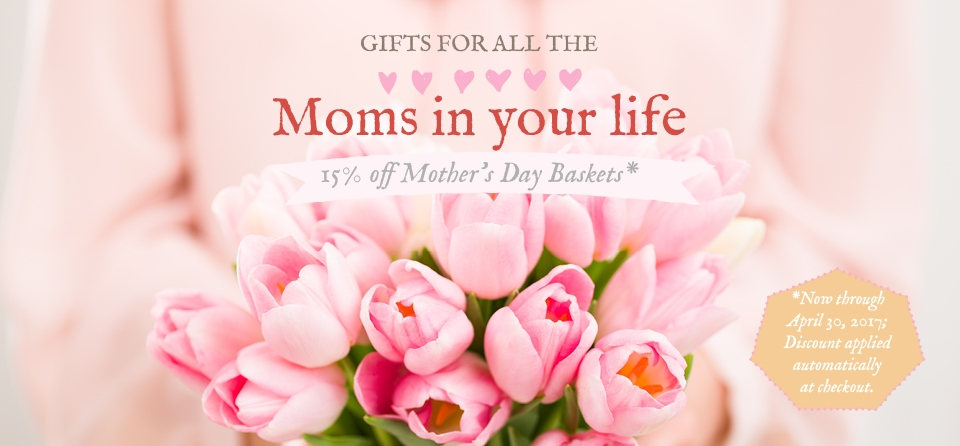 April Slider: Special Mother's Day Baskets