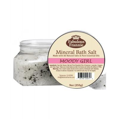 Moody Girl (PMS) Mineral Bath Salt 9oz