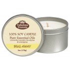 Bug Away 100% Pure & Natural Soy Candle 6 oz