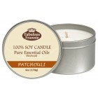 Patchouli 100% Pure & Natural Soy Candle 6 oz