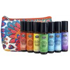 Chakra Complete ROLL ON Travel Bag Set